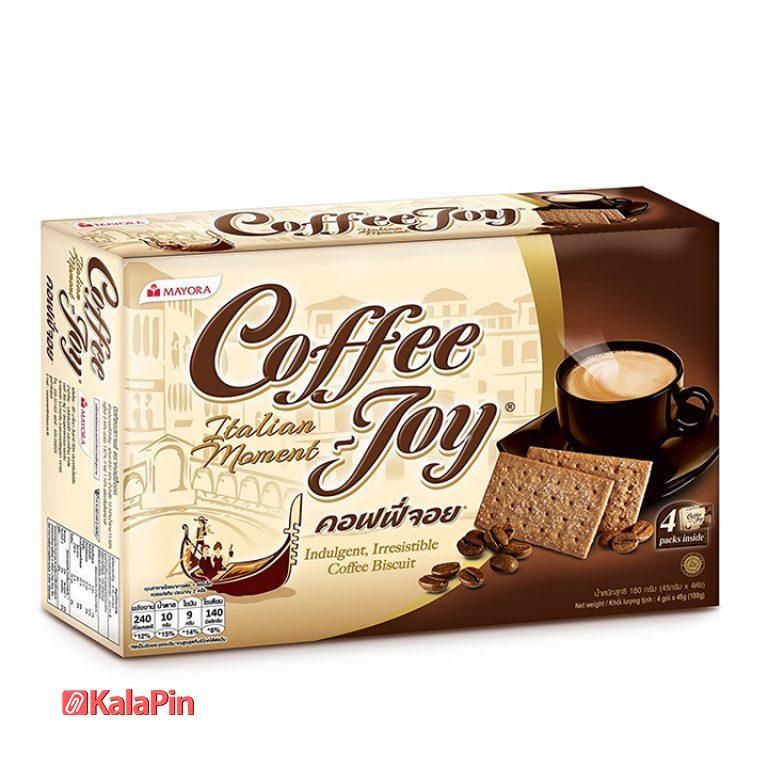 بیسکویت کافی جوی coffee joy بسته 18 عددی