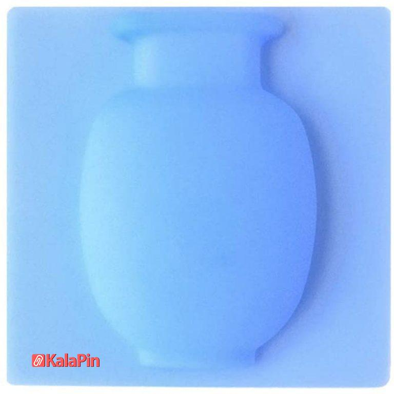گلدان سیلیکونی چسبدار (پک 3 عددی)