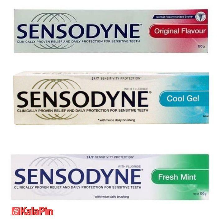 خمیر دندان سنسوداین Sensodyne