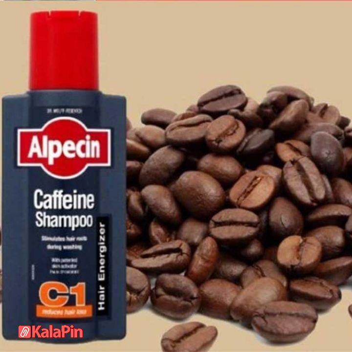شامپو آلپسین C1 کافئین حجم ۲۵۰ میلی لیتر