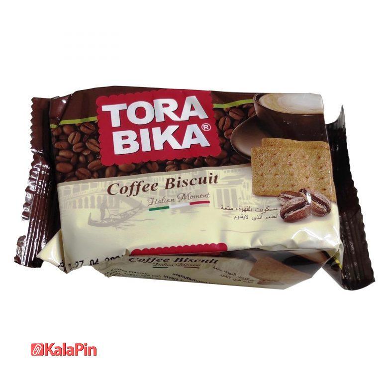 بیسکوییت ترابیکا Tora Bika مدل Coffee قهوه بسته 18 عددی
