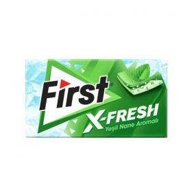 آدامس فرست ایکس فرش با طعم نعناعFirst X-Fresh Gum With mint flavor
