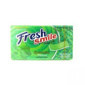 آدامس نعنایی تند بدون شکر فرش اسمایلFresh Smile Spicy mint gum without sugar
