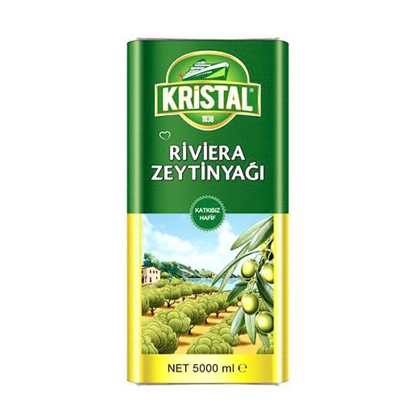 روغن زیتون کریستال 5 لیتریCrystal olive oil 5 liters