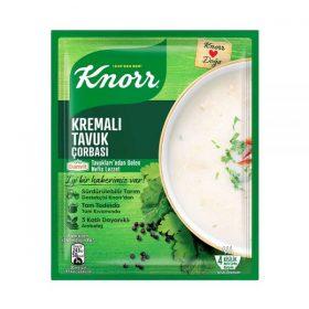 سوپ مرغ خامه ای کنور مقدار 65 گرمKnorr cream chicken soup 65 g