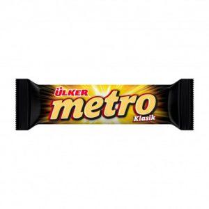 شکلات کاراملی اولکر مدل Metro وزن 36 گرمUlker caramel chocolate Metro model weighs 36 grams